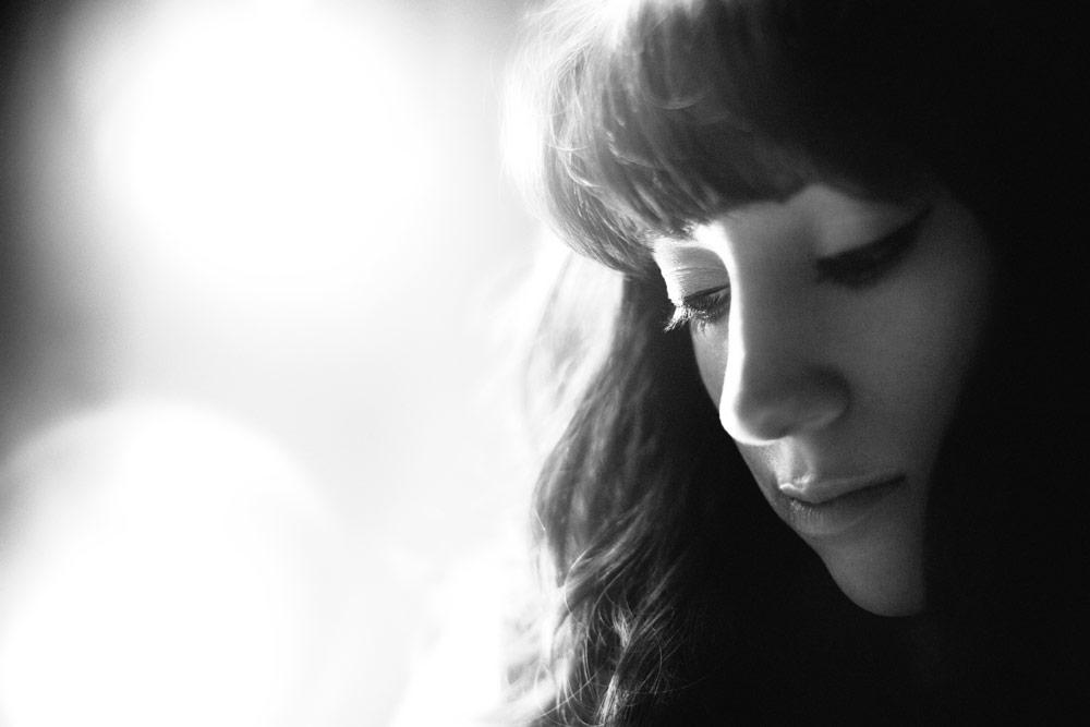 Rebecca Handler black and white