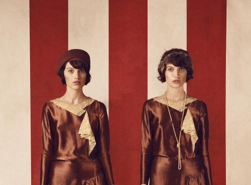Vintage Fashion Twins